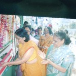 opening of stall at erandvane school